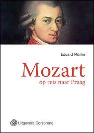 Grootletterboek Mozart op reis naar Praag