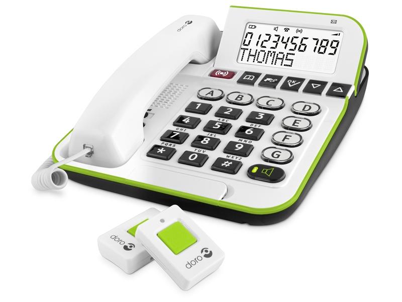 Doro Alarmtelefoon 350 + zender