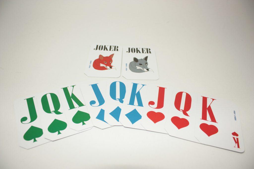 Extra set kaarten foxy reader