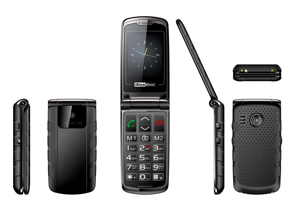 Maxcom MM822 zwart
