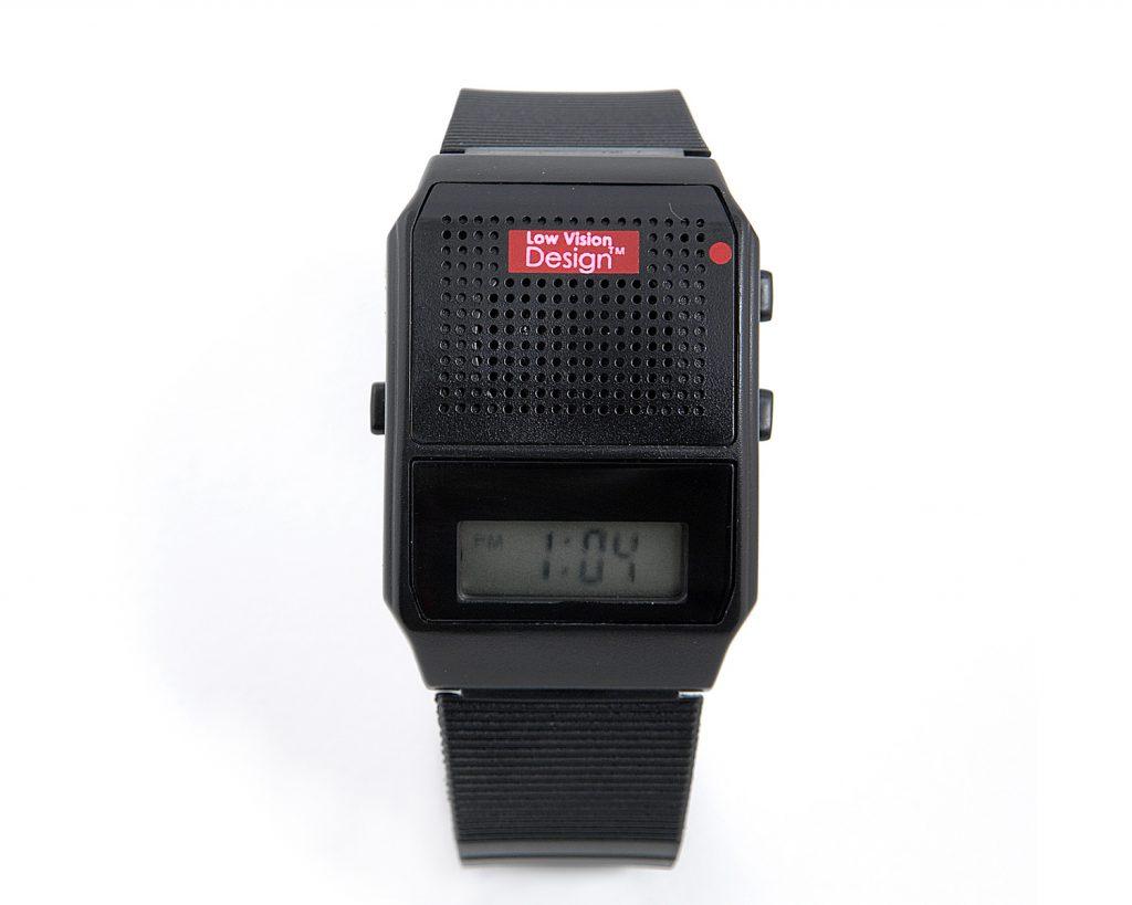 LVD NL sprekend horloge kunststof