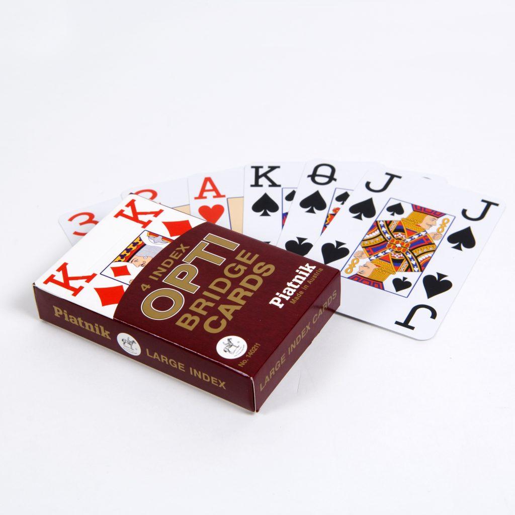 Opti speelkaarten