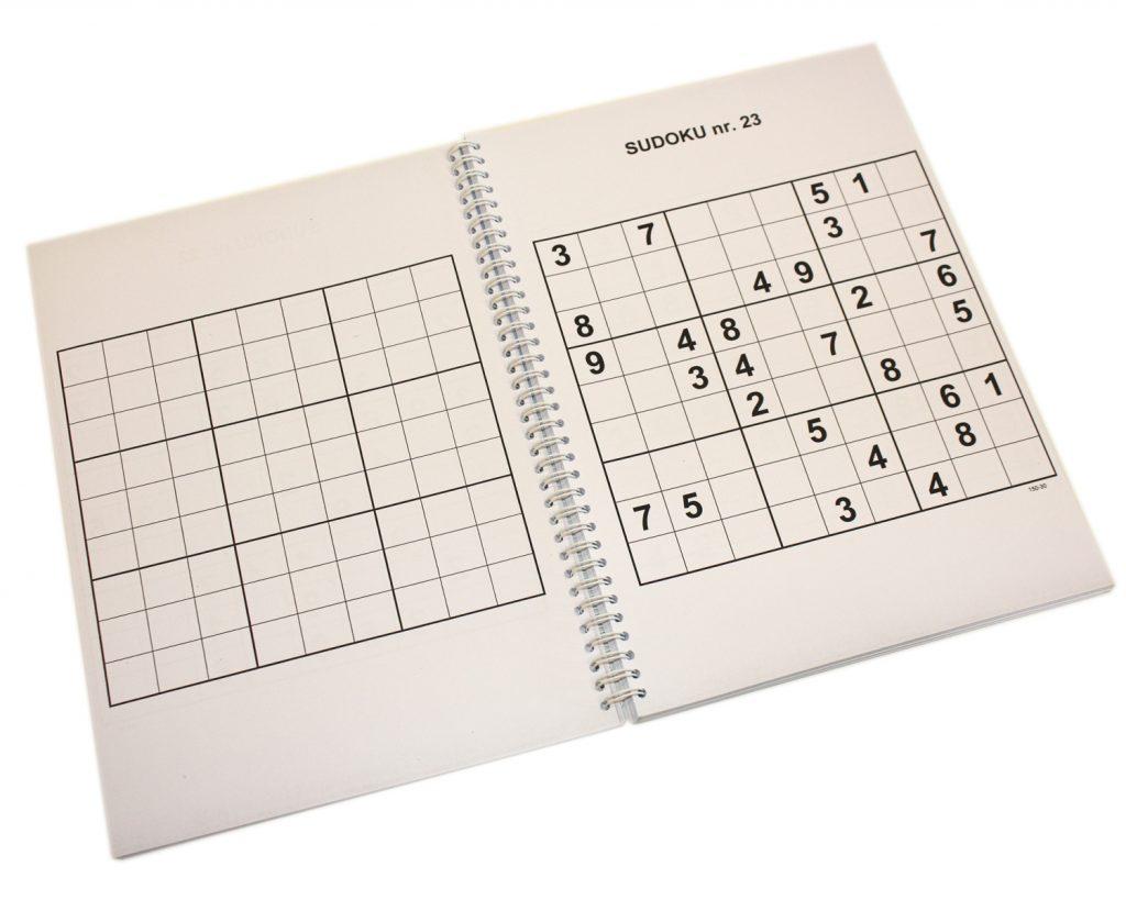 Sudoku grootletter