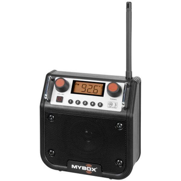 perfectpro radio zwart