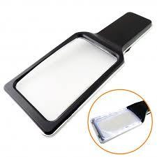 Handloep rechthoekig LED