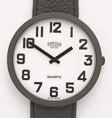 Arsa Low Vision horloge wit